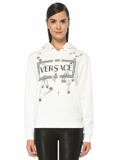 Versace Sweatshirt Beyaz